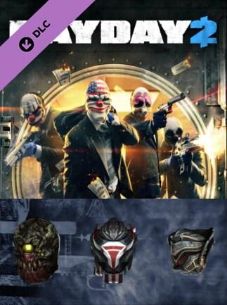 PAYDAY 2: E3 2016 Mask Pack Steam Key GLOBAL