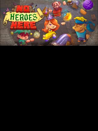 No Heroes Here Steam Key PC GLOBAL - box