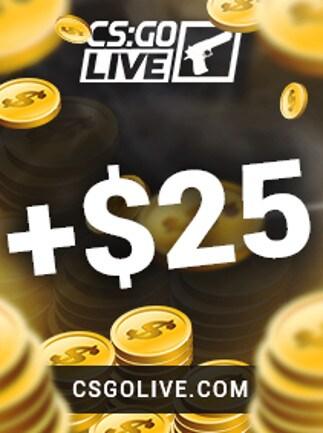 CSGOLive 25 USD Key