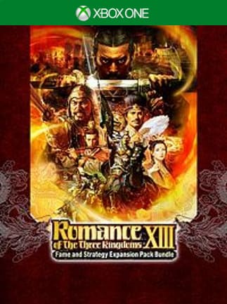 ROMANCE OF THE THREE KINGDOMS XIII: Fame and Strategy Expansion Pack Bundle Xbox One Xbox Live Key EUROPE