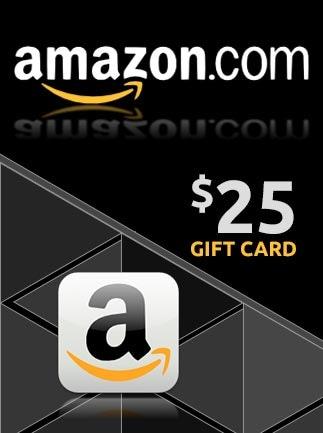Amazon Gift Card NORTH AMERICA 25 USD Amazon - box