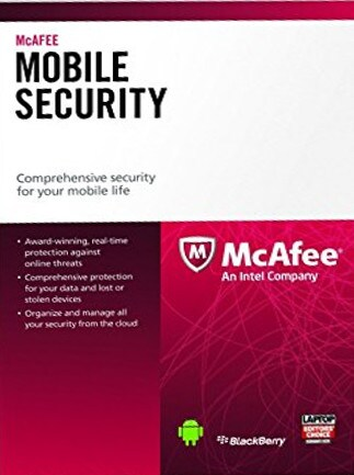 McAfee Mobile Security 1 Device 1 Year Key GLOBAL