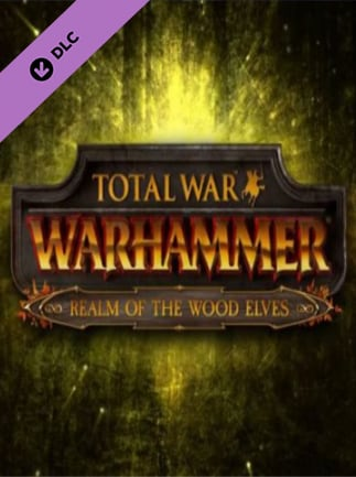 Total War: WARHAMMER - The Realm of the Wood Elves Key Steam GLOBAL - box