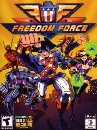 Freedom Force Steam Key GLOBAL
