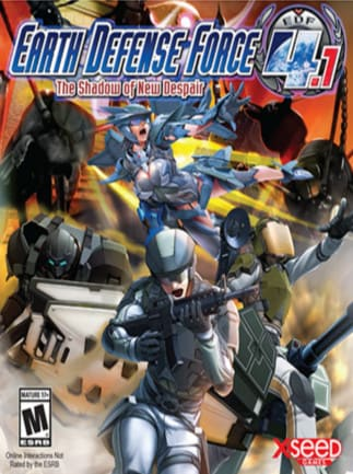 Earth Defense Force 4 1: The Shadow of New Despair - Buy Steam CD-Key