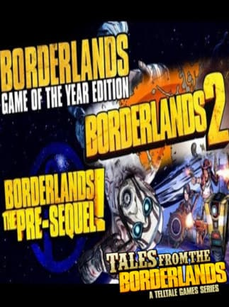 Borderlands 2: siren glitter and gore packaging