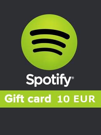 Spotify Gift Card 10 EUR Spotify AUSTRIA