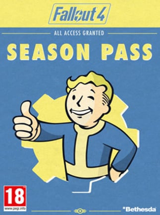 Fallout 4 Season Pass Key Steam GLOBAL - okładka