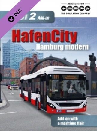 OMSI 2 Add-On HafenCity - Hamburg modern Steam Key GLOBAL - G2A COM