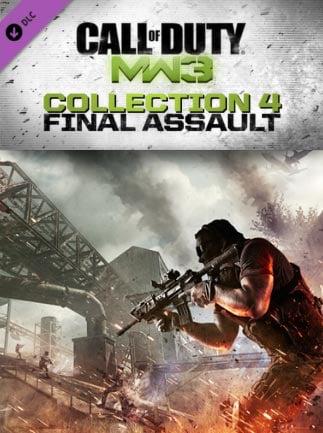 Call of Duty: Modern Warfare 3 - DLC Collection 4: Final Assault Steam Key GLOBAL