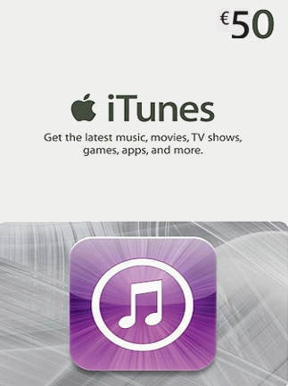 Apple iTunes Gift Card GERMANY 50 EUR iTunes - box