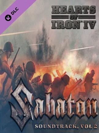 Hearts of Iron IV: Sabaton Soundtrack Vol. 2 Steam Key GLOBAL