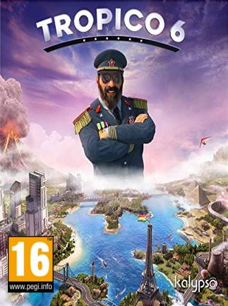 Tropico 6 El Prez Steam Key RU/CIS - box