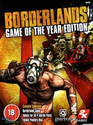 Borderlands GOTY EDITION 4-Pack Steam Key GLOBAL - G2A COM