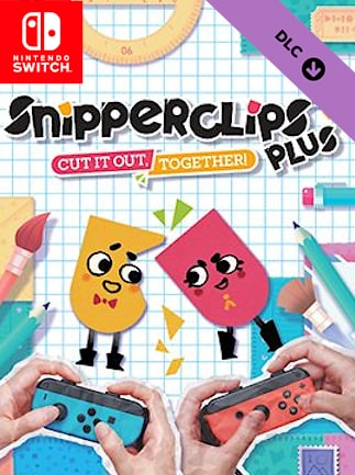 Snipperclips – Cut it out, together!: Plus Pack (DLC) - Nintendo Switch - Key EUROPE