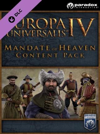 Europa Universalis IV: Mandate of Heaven Content Pack Steam Key RU/CIS
