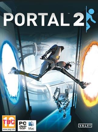 Portal 2 Steam Key GLOBAL - box