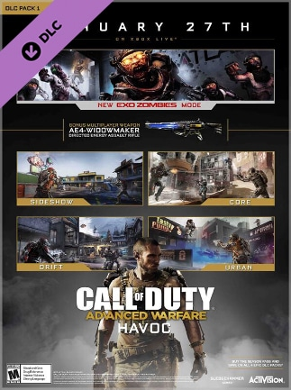 Call of Duty: Advanced Warfare - Havoc Map Pack PSN PS4 Key GLOBAL Call Of Duty Map Packs on