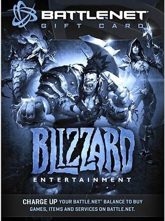 Blizzard GiftCard EUROPE 20 EUR Blizzard - box
