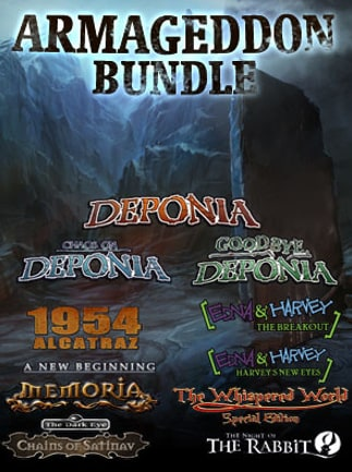 The Daedalic Armageddon Bundle Steam Key GLOBAL - G2A COM