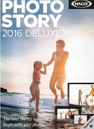 MAGIX Photostory 2016 Deluxe GLOBAL Key Steam - okładka