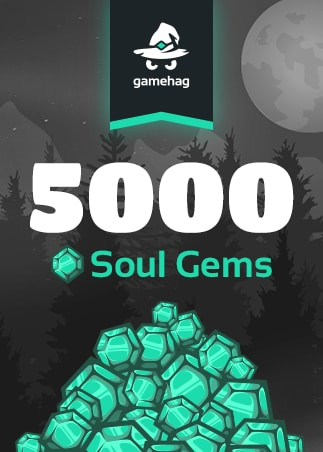 Gamehag (PC) 5000 Soul Gems - gamehag Key - GLOBAL