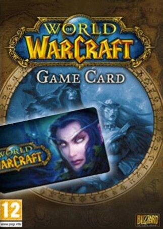 World of Warcraft Time Card Prepaid 180 Days Game Time & Dreadwake Mount Bundle EUROPE Blizzard