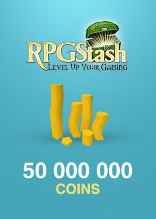 runescape global 50 000 000 coins g2a com