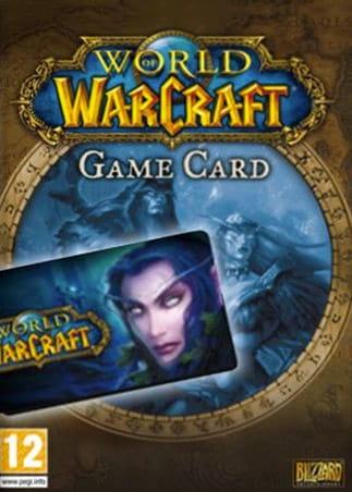 World of Warcraft Time Card 30 Days Battle.net EUROPE