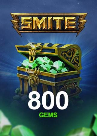 SMITE GEMS SMITE Key GLOBAL 800 Coins