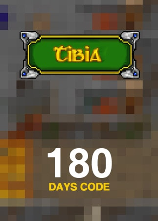Tibia PACC Premium Time 180 Days Cipsoft Code GLOBAL