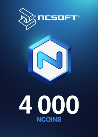 4000 NCoins NCSoft Code EUROPE