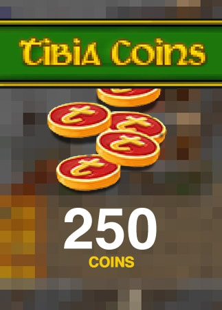 Tibia Coins Cipsoft Code GLOBAL 250 Coins