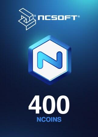 400 NCoins NCSoft NORTH AMERICA Code - box
