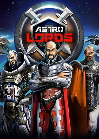 Astro Lords: Oort Cloud - MOBA: Two Stations 25 Key GLOBAL - box