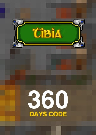 Tibia PACC Premium Time 360 Days Cipsoft Code GLOBAL