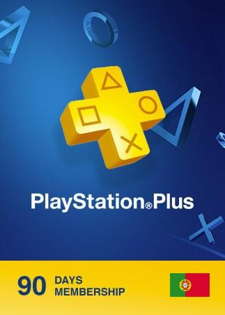 Playstation Plus CARD 90 Days PSN PORTUGAL
