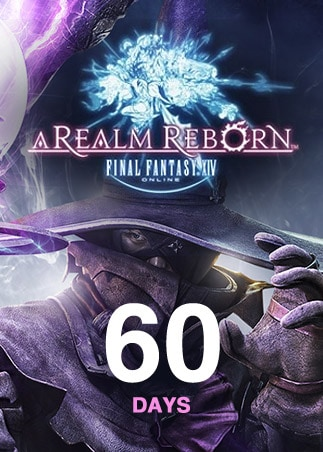Final Fantasy XIV: A Realm Reborn Time Card 60 Days EUROPE Final Fantasy - box