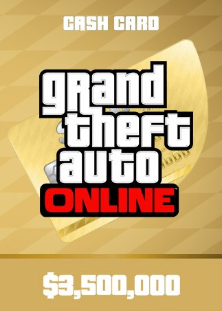 Grand Theft Auto Online: The Whale Shark Cash Card 3 500 000 Xbox Live Key NORTH AMERICA