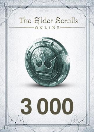 The Elder Scrolls Online Crown Pack Steam GLOBAL 3 000 Coins Gift