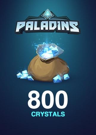 Paladins Crystals Key GLOBAL 800 Crystals