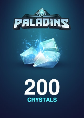 Paladins Crystals GLOBAL 200 Crystals Key - box