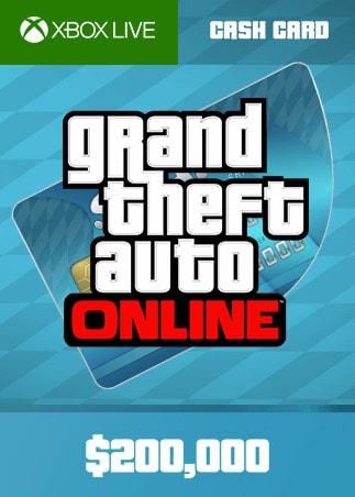 Grand Theft Auto Online: Tiger Shark Cash Card 200 000 Xbox Live Key GLOBAL