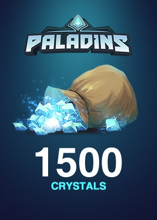 Paladins Crystals GLOBAL 1 500 Crystals Key