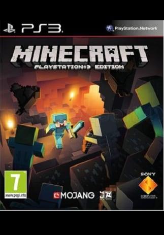 Minecraft PSN Key PS3 EUROPE - box