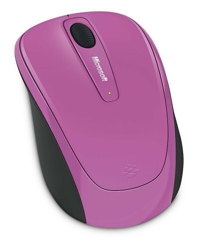 MICROSOFT Wireless Mobile mouse 3500, USB, ER, Dahlia