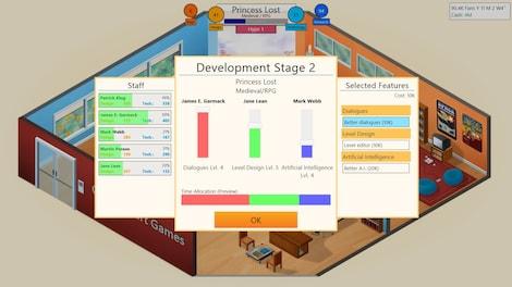 Game Dev Tycoon Steam Key GLOBAL - gameplay - 12
