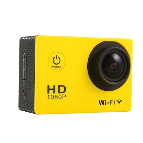 Waterproof Sports camera  - WIFI action 1080P HD DV  Blue - product photo 2