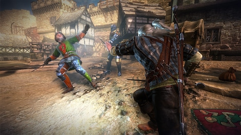 The Witcher 2 Assassins of Kings Enhanced Edition Steam Key GLOBAL - gameplay - 4