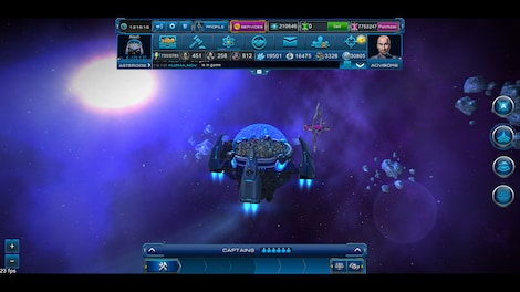 Astro Lords: Oort Cloud - MOBA: Two Stations 50 Key GLOBAL - screenshot - 3